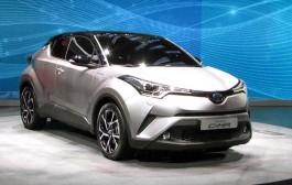Toyota C-HR 2016 Cenevre'de tanıtıldı