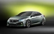 Yeni Honda Civic HB 2017 konsepti Cenevre'de sergilendi