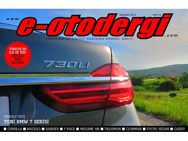 e-otodergi Haziran 2016 Sayı 94 yayında