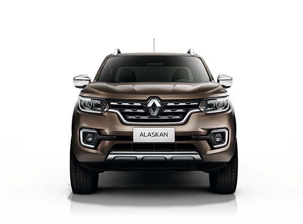 Renault Alaskan 2017 yüzünü gösterdi