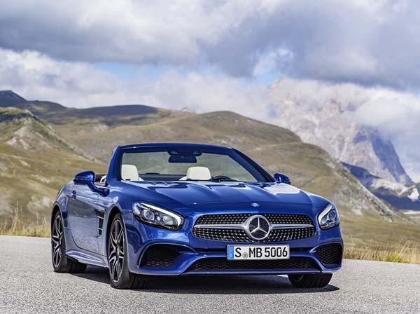 Yeni Mercedes-Benz SL 2016 satışa sunuldu