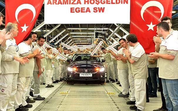 Fiat Egea Station Wagon 2016 üretimi başladı