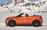 Range Rover Evoque Cabrio satışa sunuldu