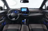 Toyota C-HR 2016 kokpiti tanıtıldı