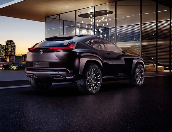 Lexus UX Concept Paris'te tanıtılacak