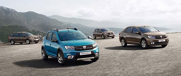 Yeni Dacia Sandero ve Logan 2017