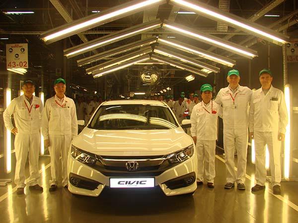 Yeni Honda Civic Sedan 2017 üretimi başladı