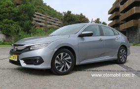 Yeni Honda Civic Sedan test sürüşü