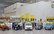 Skoda 19 milyonuncu aracını üretti