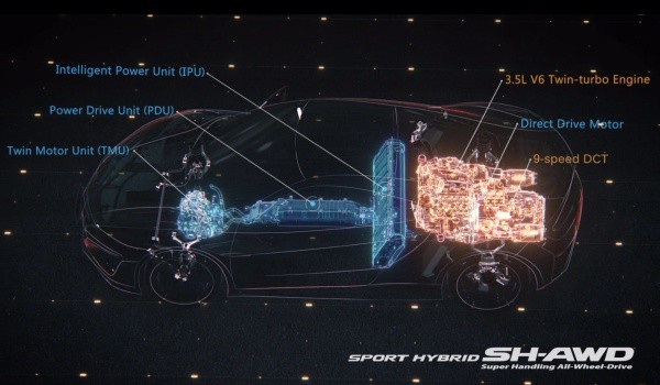 Yeni_Honda_NSX_teknik