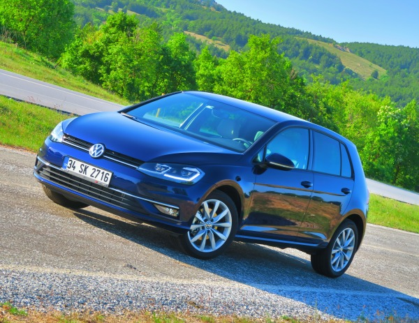 yeni vw golf 1 6 tdi 115 hp dsg test s r otomobil. Black Bedroom Furniture Sets. Home Design Ideas
