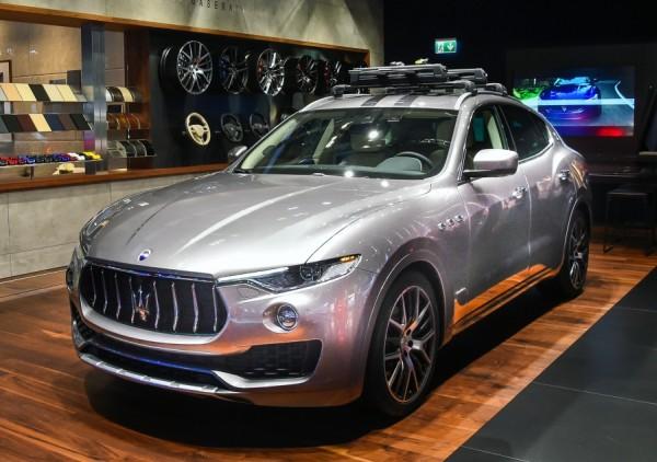 Maserati Antalya showroom'u açıldı