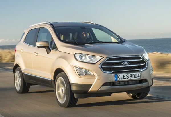 Ford Ecosport 2018 test sürüşü