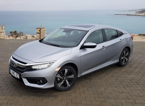 Honda Civic Sedan 1.6 dizel satışa sunuldu