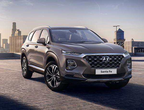 Yeni Hyundai Santa Fe 2018 Cenevre'de tanıtılacak