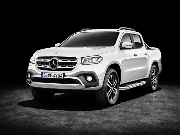 Mercedes-Benz X Serisi pick-up test videosu