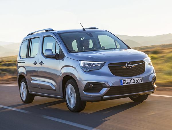Yeni Opel Combo 2018 yüzünü gösterdi