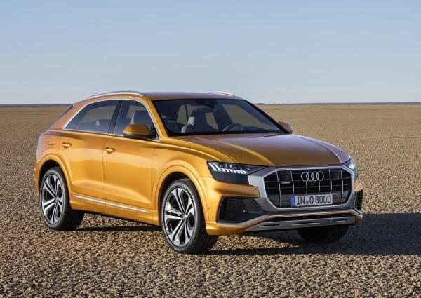 Audi Q8 tanıtıldı