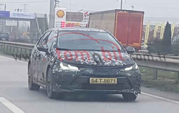 Yeni Toyota Corolla 2019 test sürüşünde yakalandı