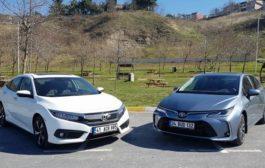 Toyota Corolla Hybrid - Honda Civic Dizel karşılaştırma