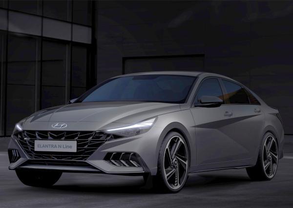 Yeni Hyundai Elantra N Line - Otomobil