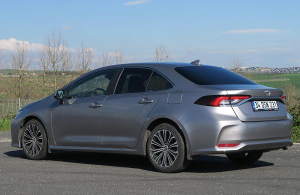 Toyota Corolla 1.5 test sürüşü